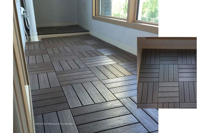 Plastik Karo Deck Görseli - Newtech Wood